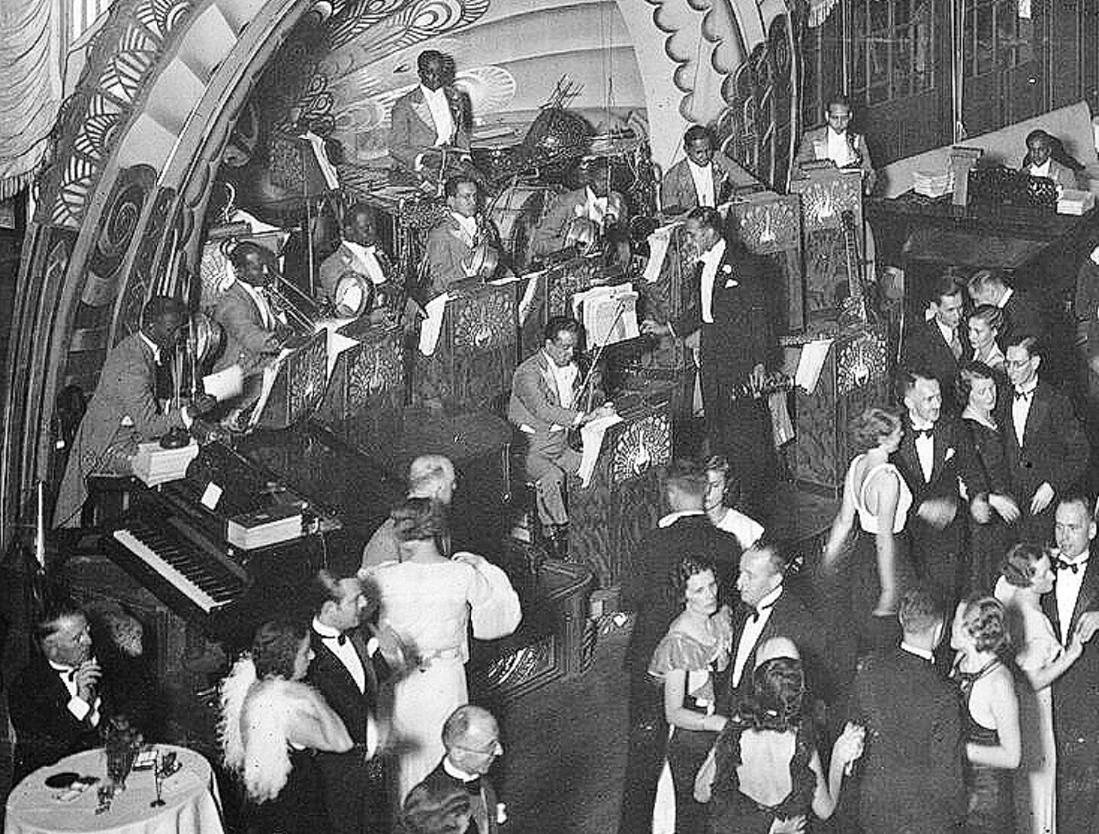 Dancing to Buck Clayton Shanghai Canidrome 1934