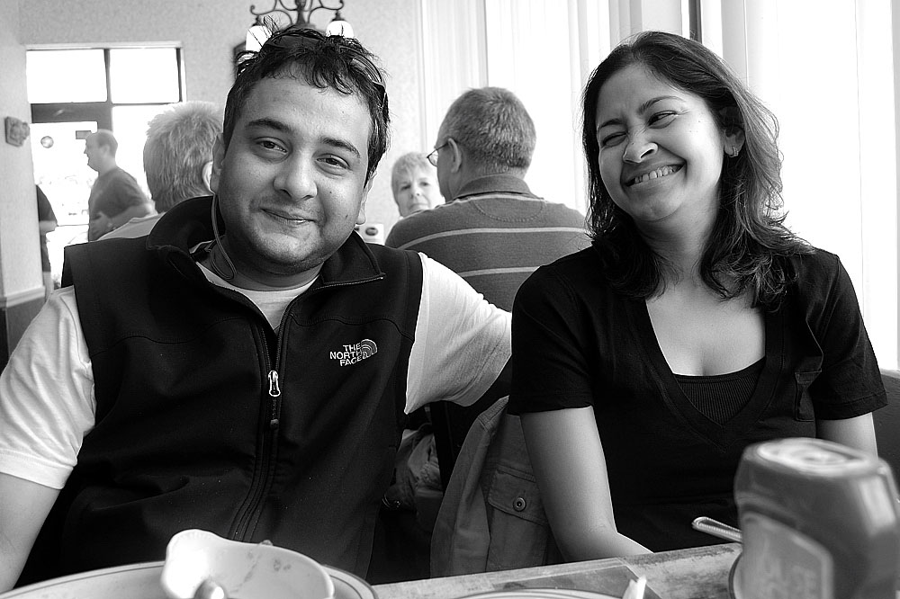 Souvik and Shweta Dutta, of Abstract Logix Records