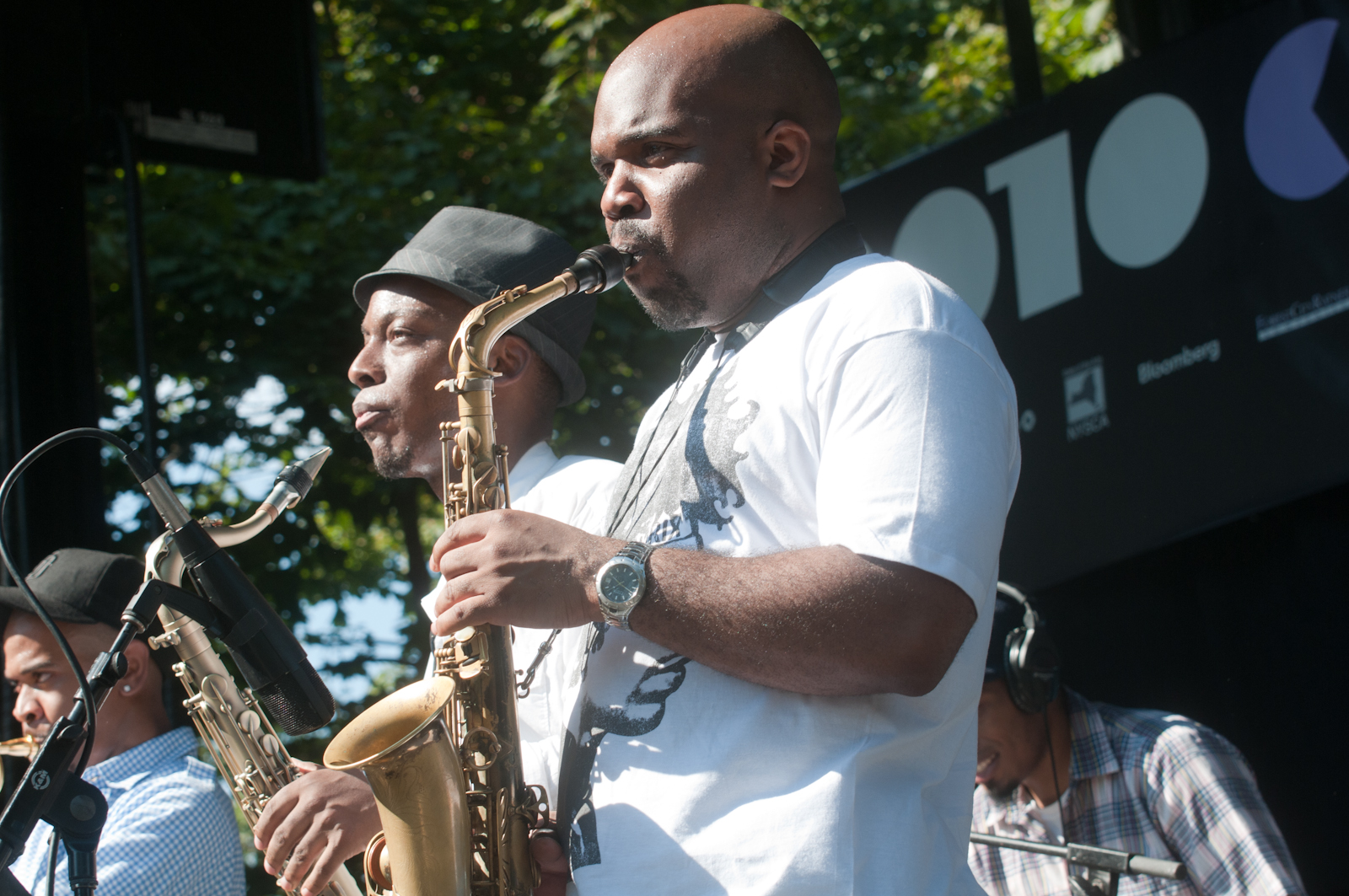 Jaleel Shaw and Marcus Strickland at Charlie Parker Festival 2010
