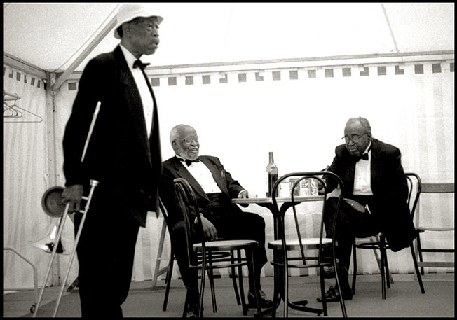 Al Grey, Junior Mance, Harry Edison. Bayonne (Francia), 1994
