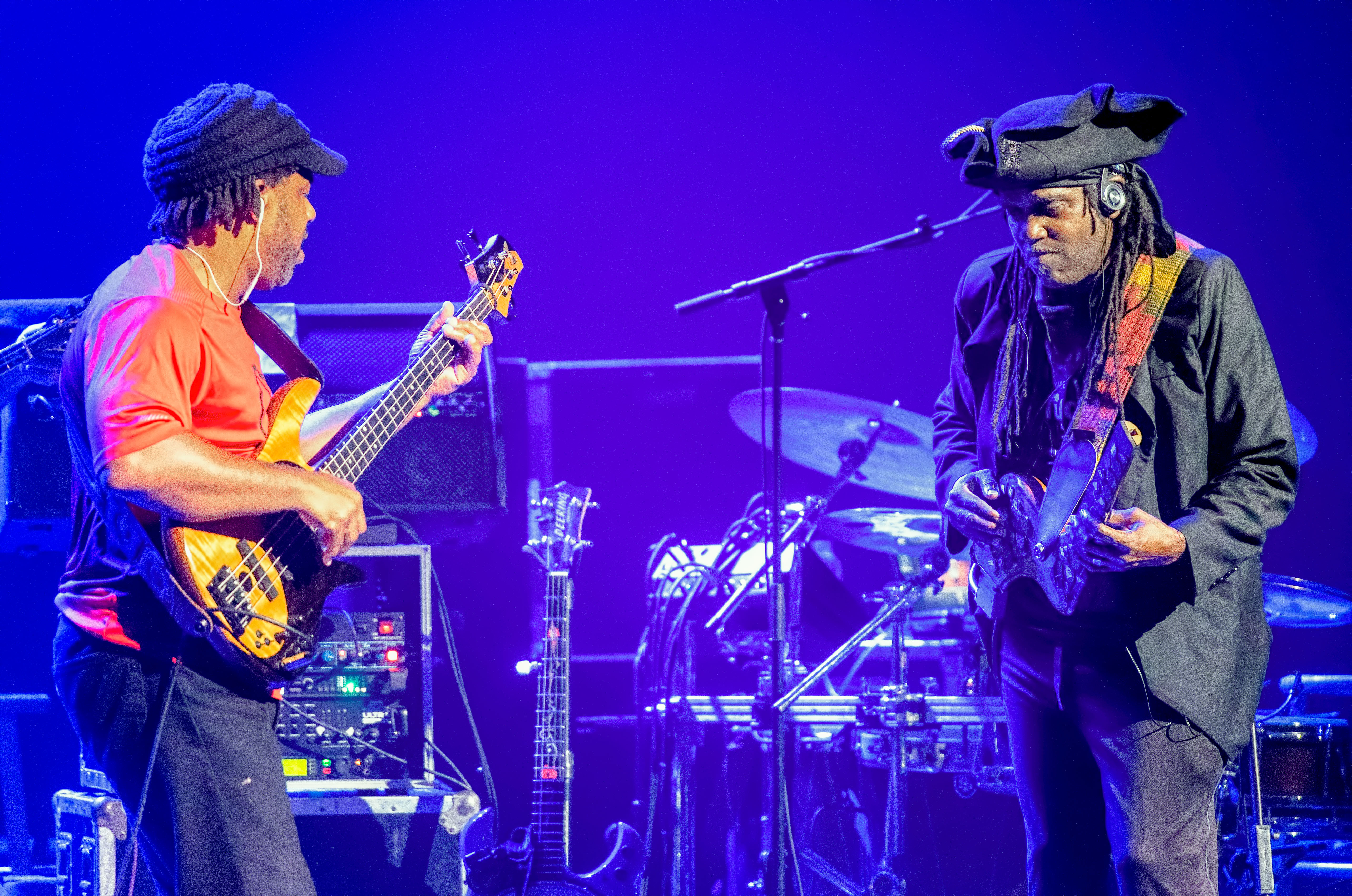 Victor Wooten and Future Man with Bela Fleck and the Flecktones at The Montreal International Jazz Festival 2018