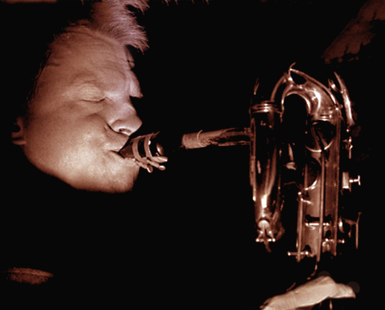 Gerry mulligan at the black hawk jazz club