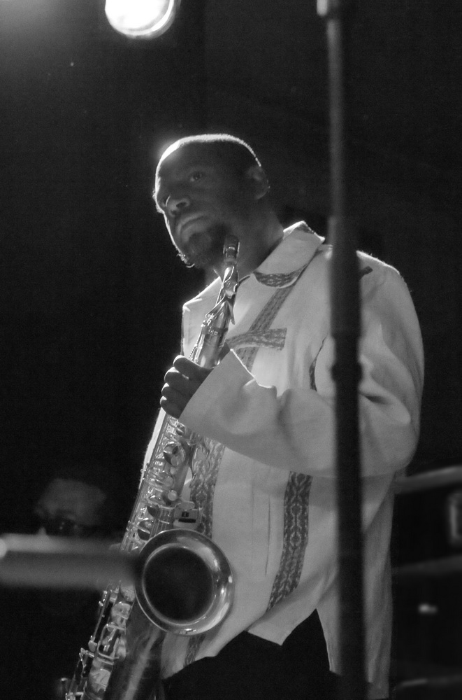 Antoine Roney from Wallace Roney Quintet, Performing at the Hague Jazz Fest 11