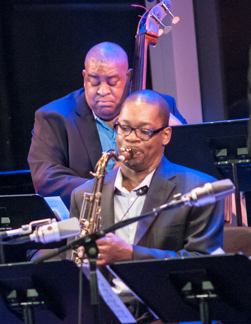 Ravi Coltrane and Dwayne Burno with Endangered Species: The Music of Wayne Shorter at Dizzy's Club Coca Cola