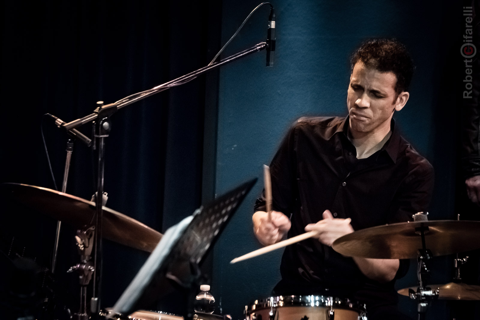Adam Cruz at Bluenote in Milan