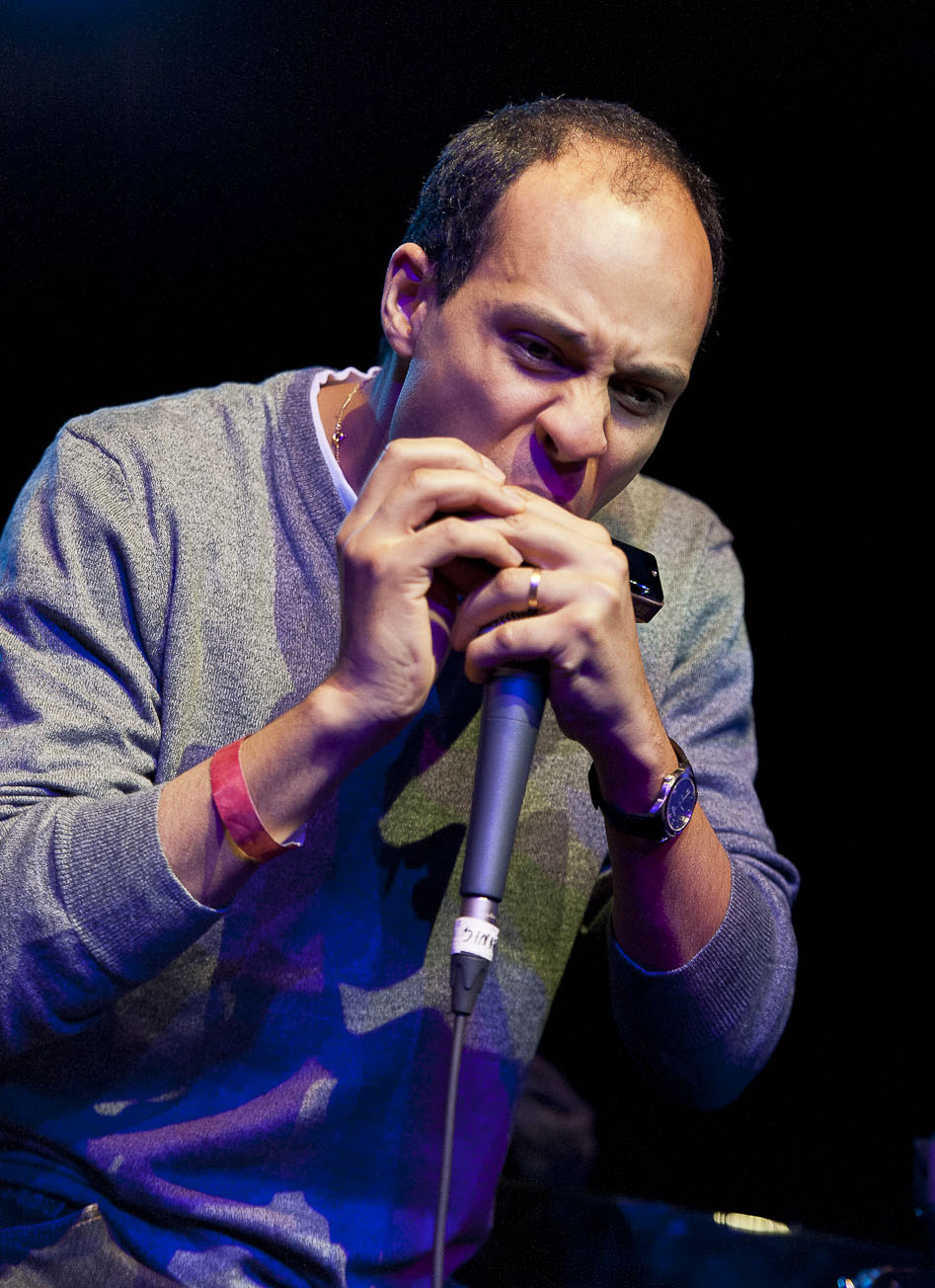 Gregoire Maret Performs with Robert Glasper: Songs in the Key of Life, Harlemstage 12/14/12