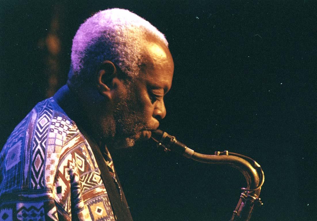 Dewey Redman, Guinness Cork Jazz Festival, Oct. 2002