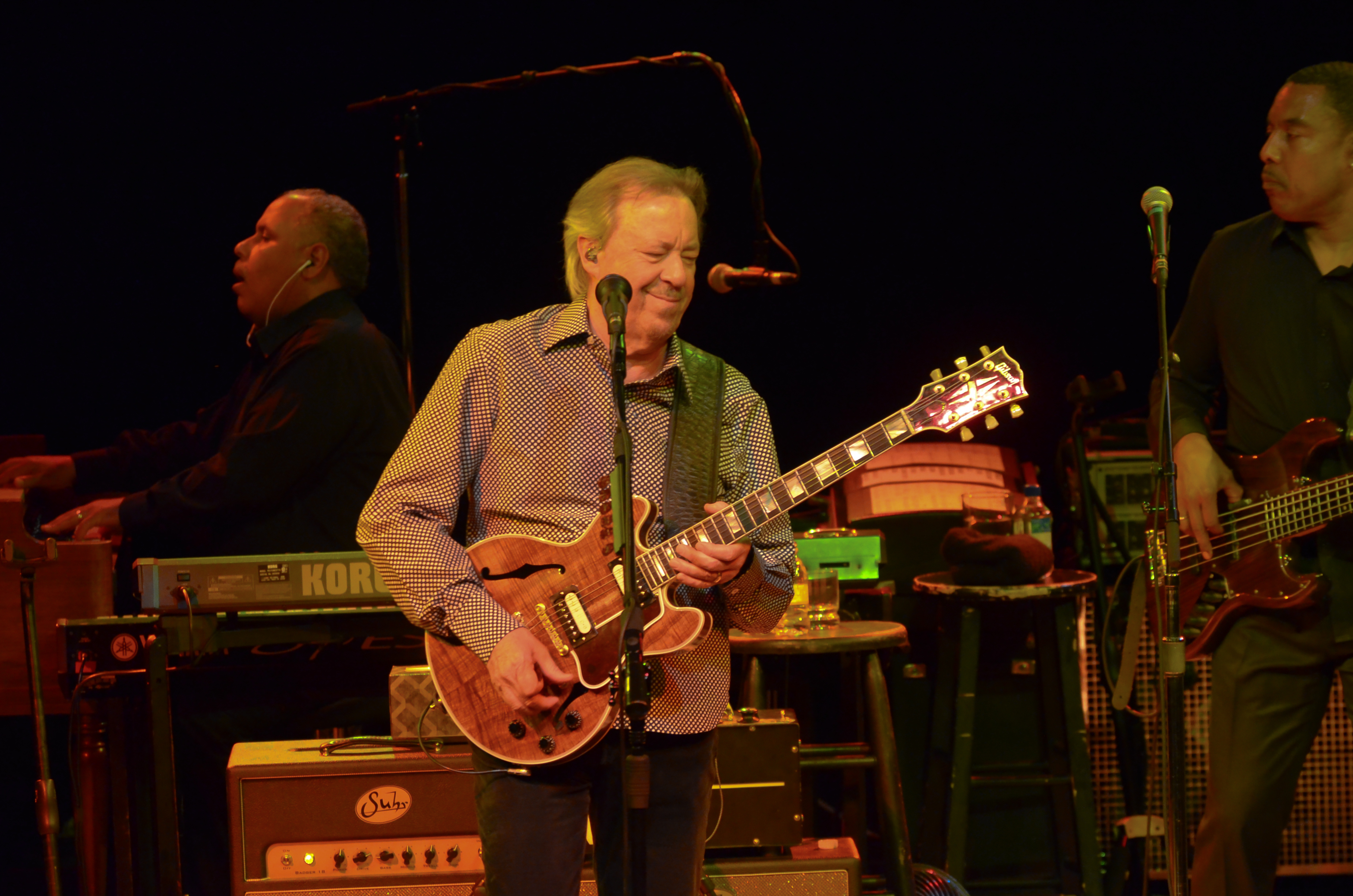 Boz Scaggs at the Nycb Theatre at Westbury on 8-3-2014