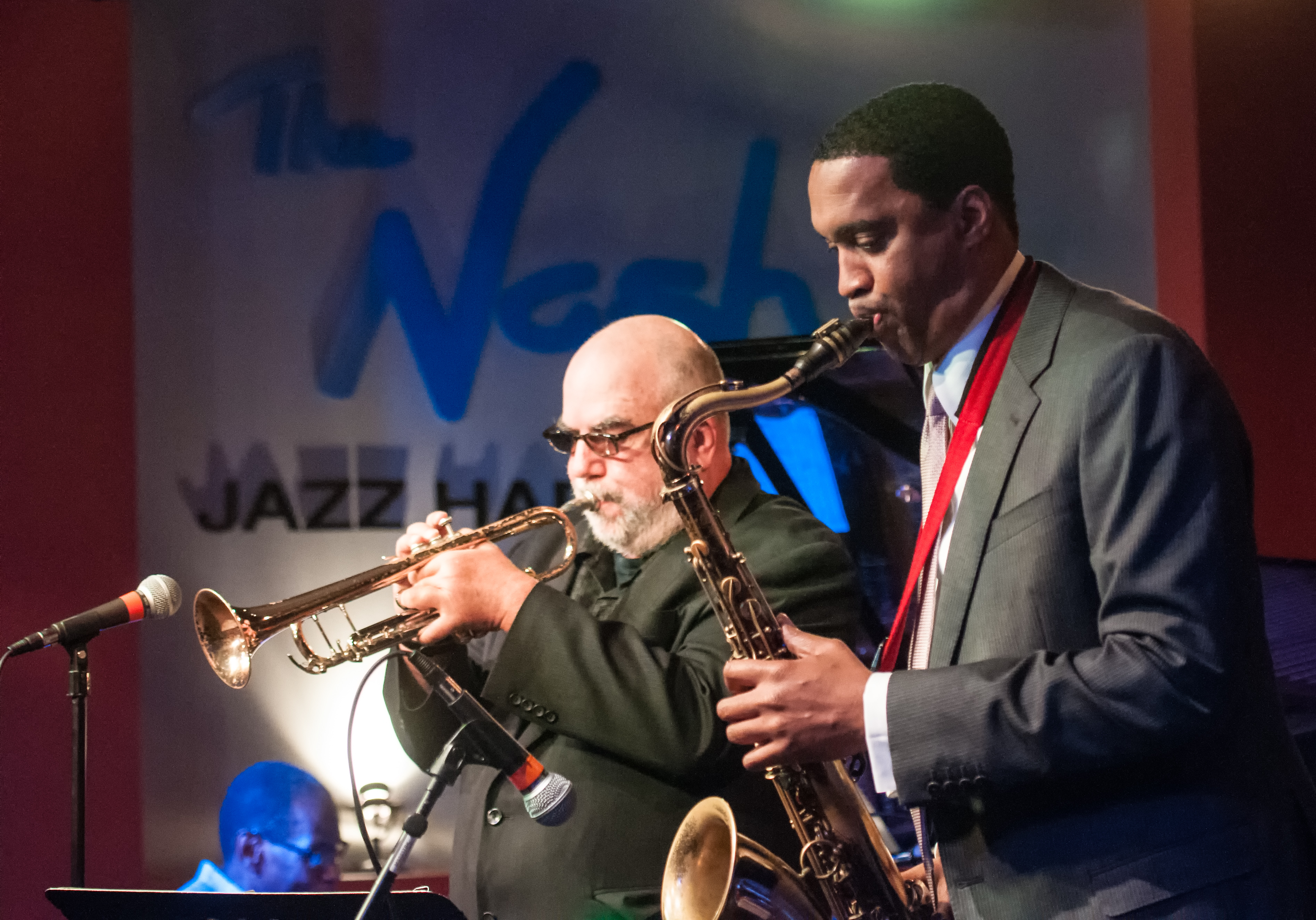 Randy Brecker And Javon Jackson With The Lewis Nash All Stars At The Nash In Phoenix