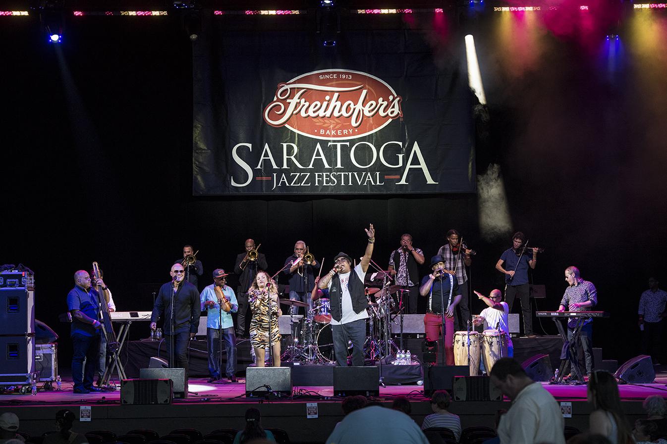 Los Van Van at the 2019 Saratoga Jazz Festival
