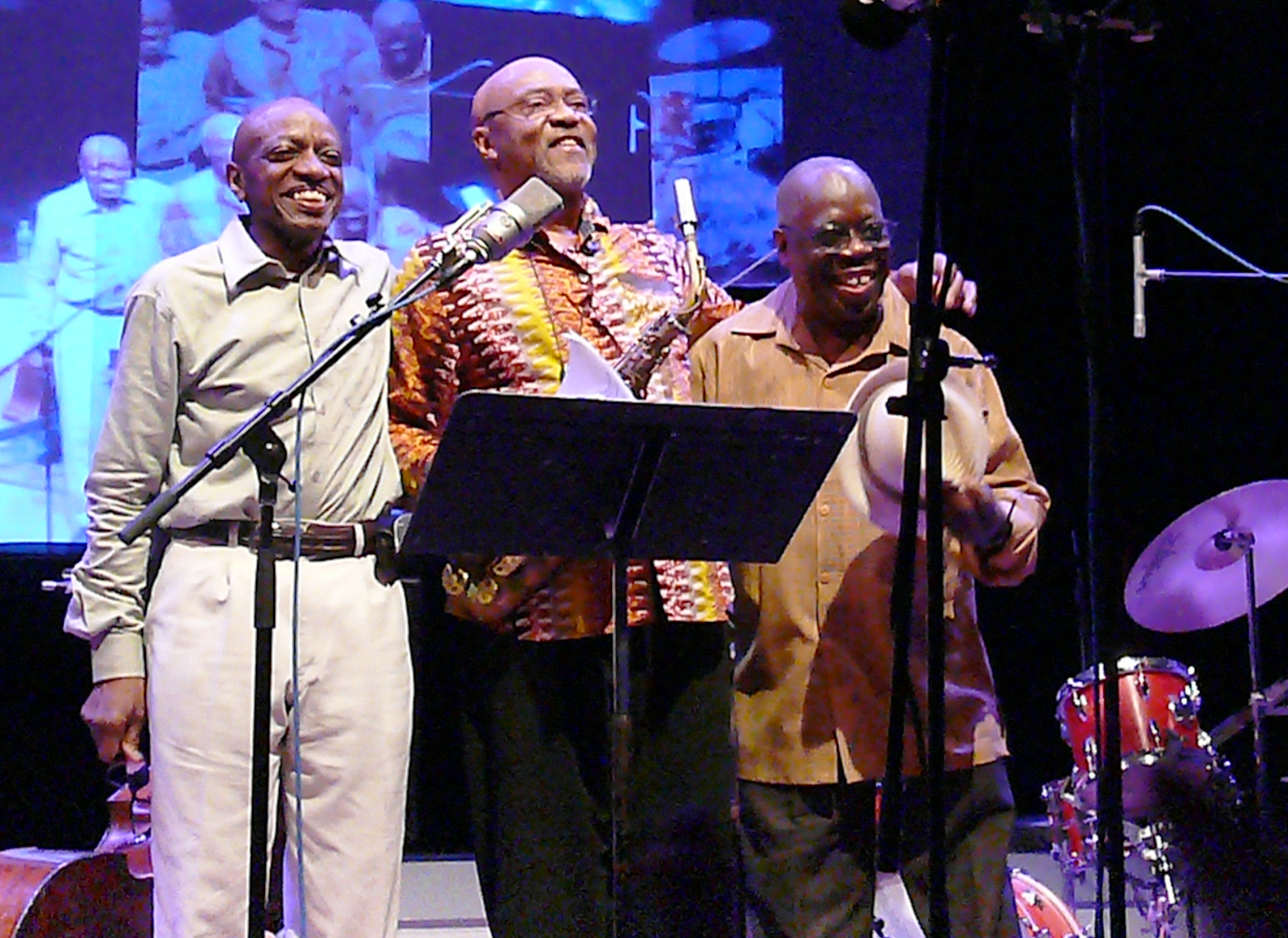 Trio 3 at the Vision Festival in June 2012