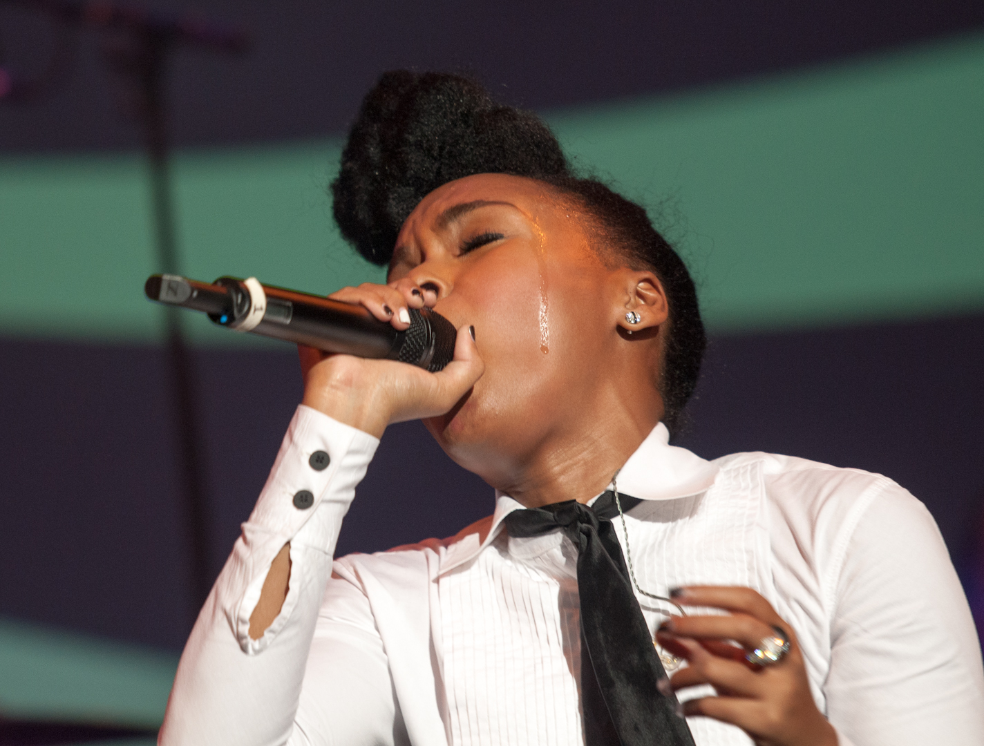 Janelle Monae At The Montreal International Jazz Festival 2012