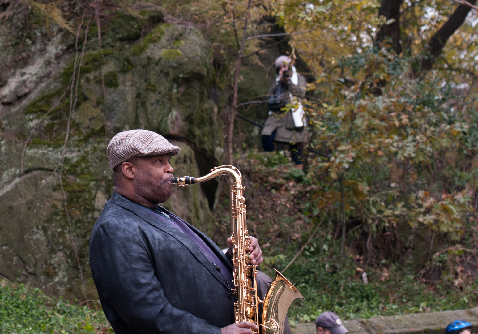 Ray Blue at Jazz and Colors in Central Park