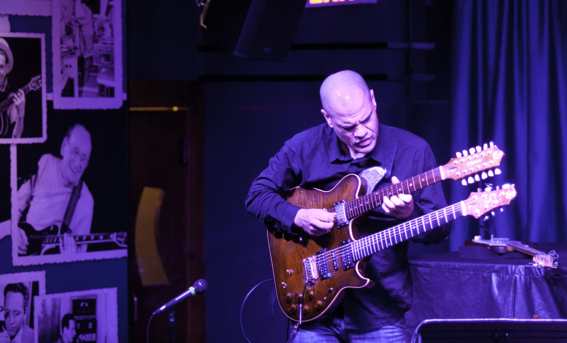 David Fiuczynski Duet with les Paul
