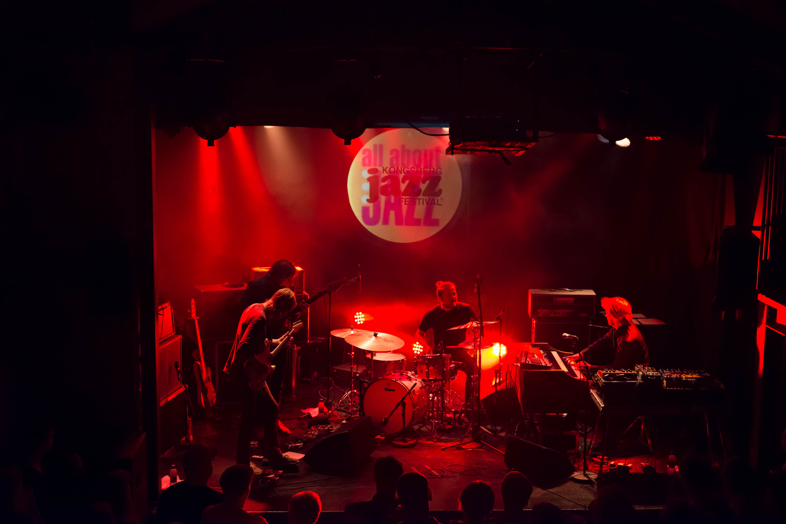 Elephant9 with Reine Fiske, 2012 Kongsberg Jazz Festival