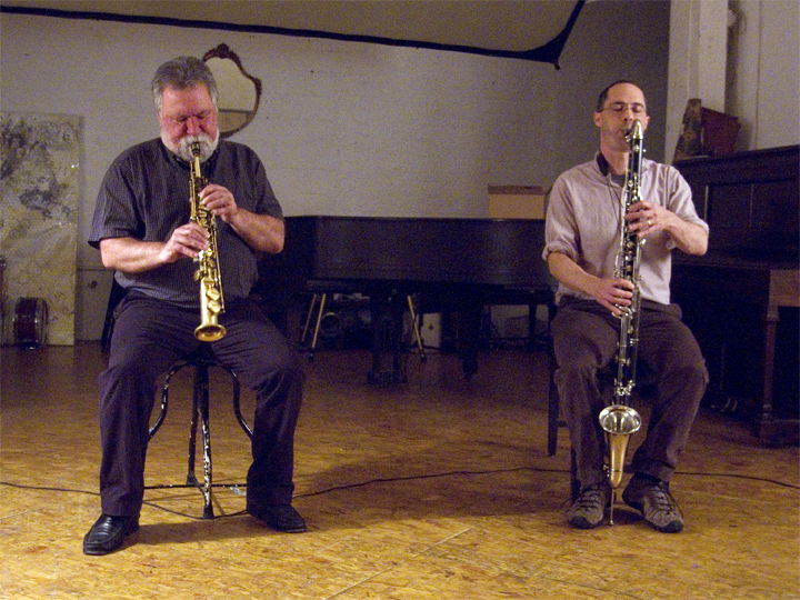 Evan Parker and Ned Rothenberg - Issue Project Room 2008