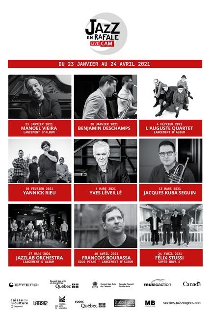 Festival JAZZ EN RAFALE LIVE CAM- 2021