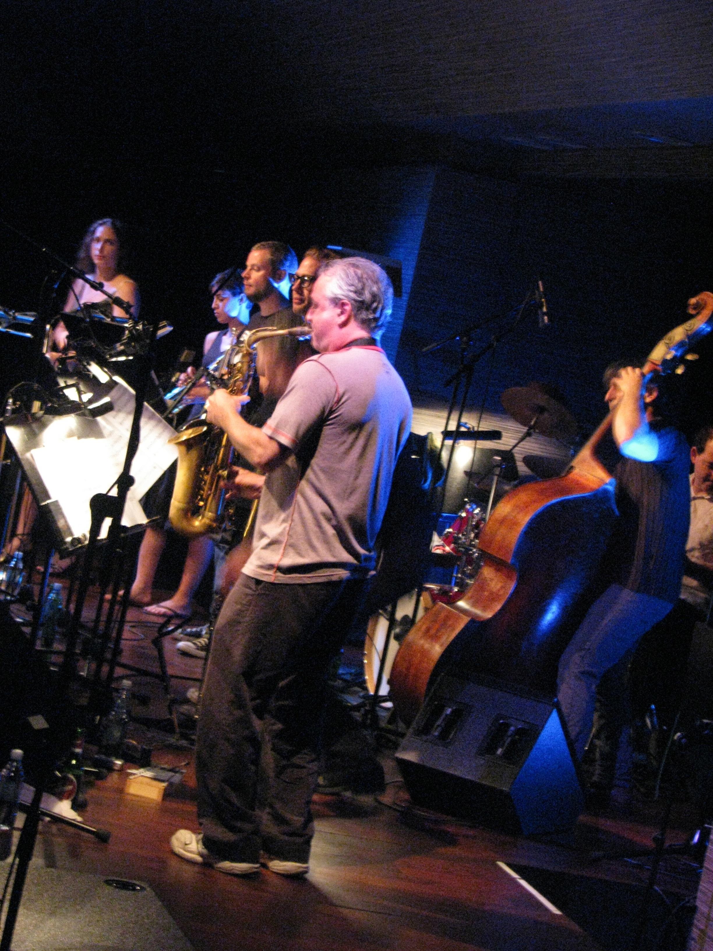 Adam Lane Full Throttle Orchestra Ljubljana Festival June 2012