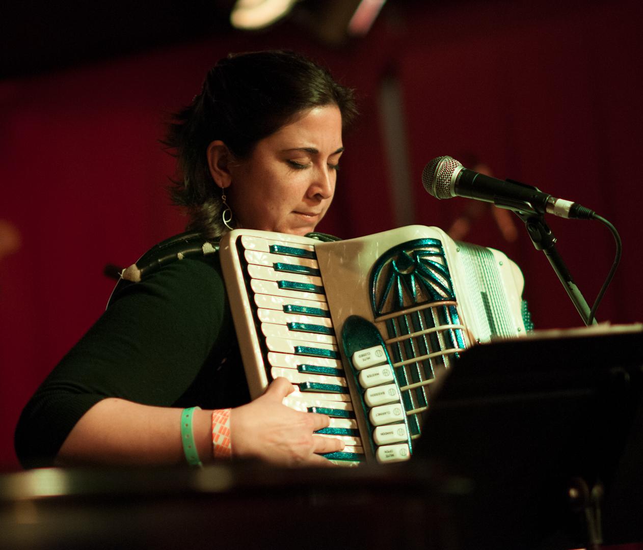 Kamala Sankaram with Positive Catastrophe at Undead Music Festival