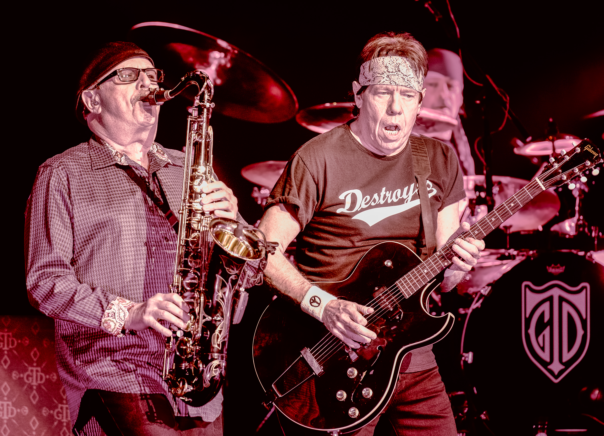 James Leach And George Thorogood With The Destroyers At The Montreal International Jazz Festival 2018