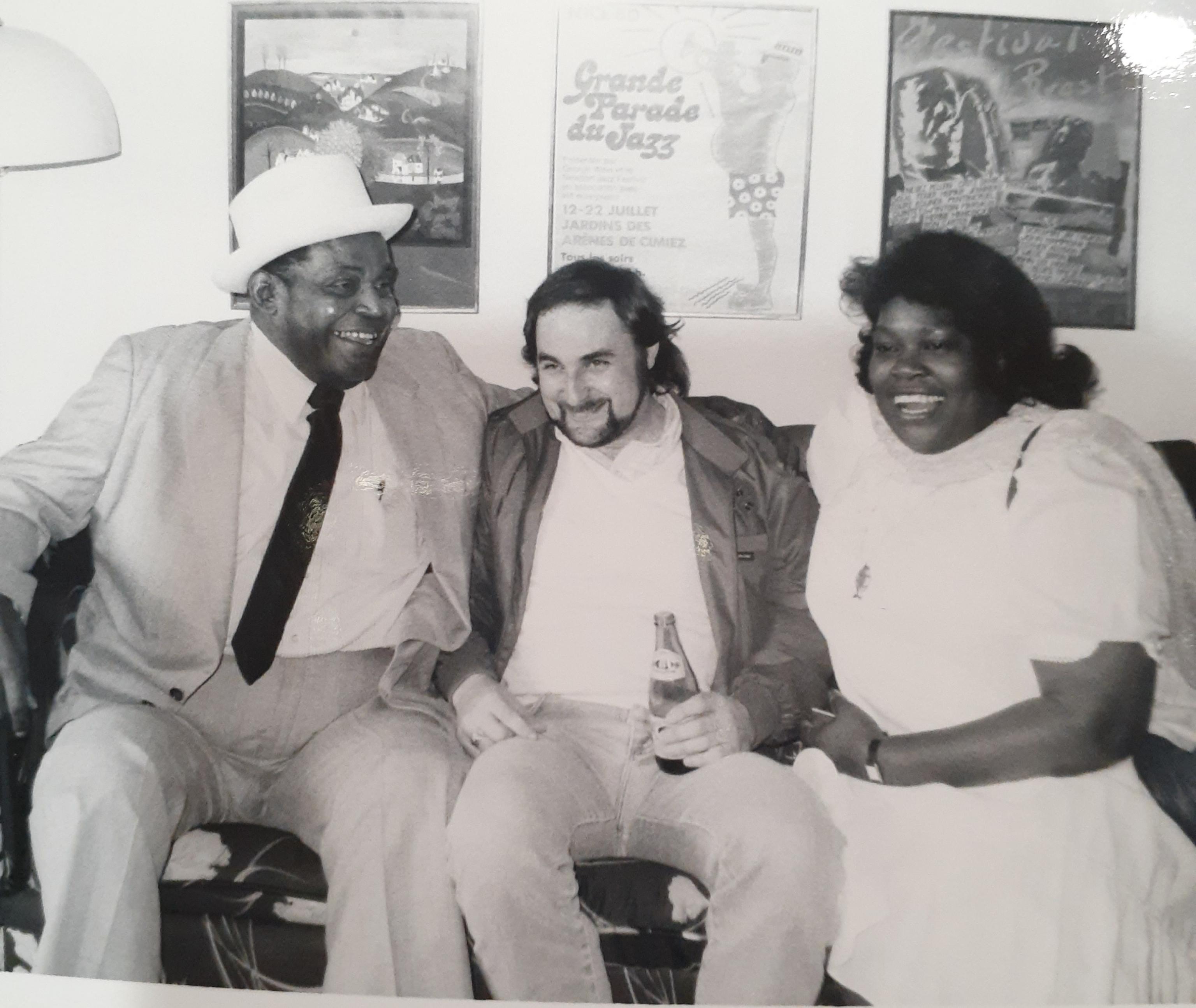 Willie Dixon, Frank Kaplan and Margie Evans