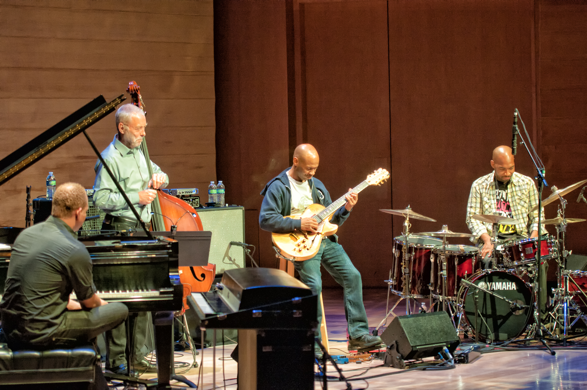 Craig Taborn, Dave Holland, Kevin Eubanks And Eric Harland With Prism At The Musical Instruments Museum (mim) In Phoenix