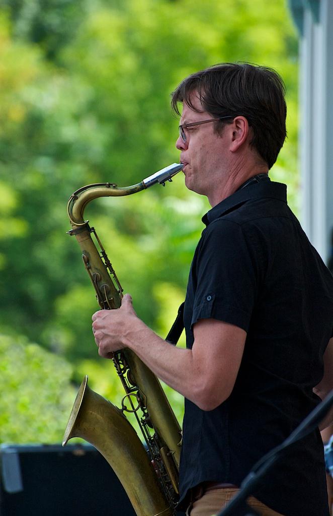 Donny mccaslin - markham jazz festival