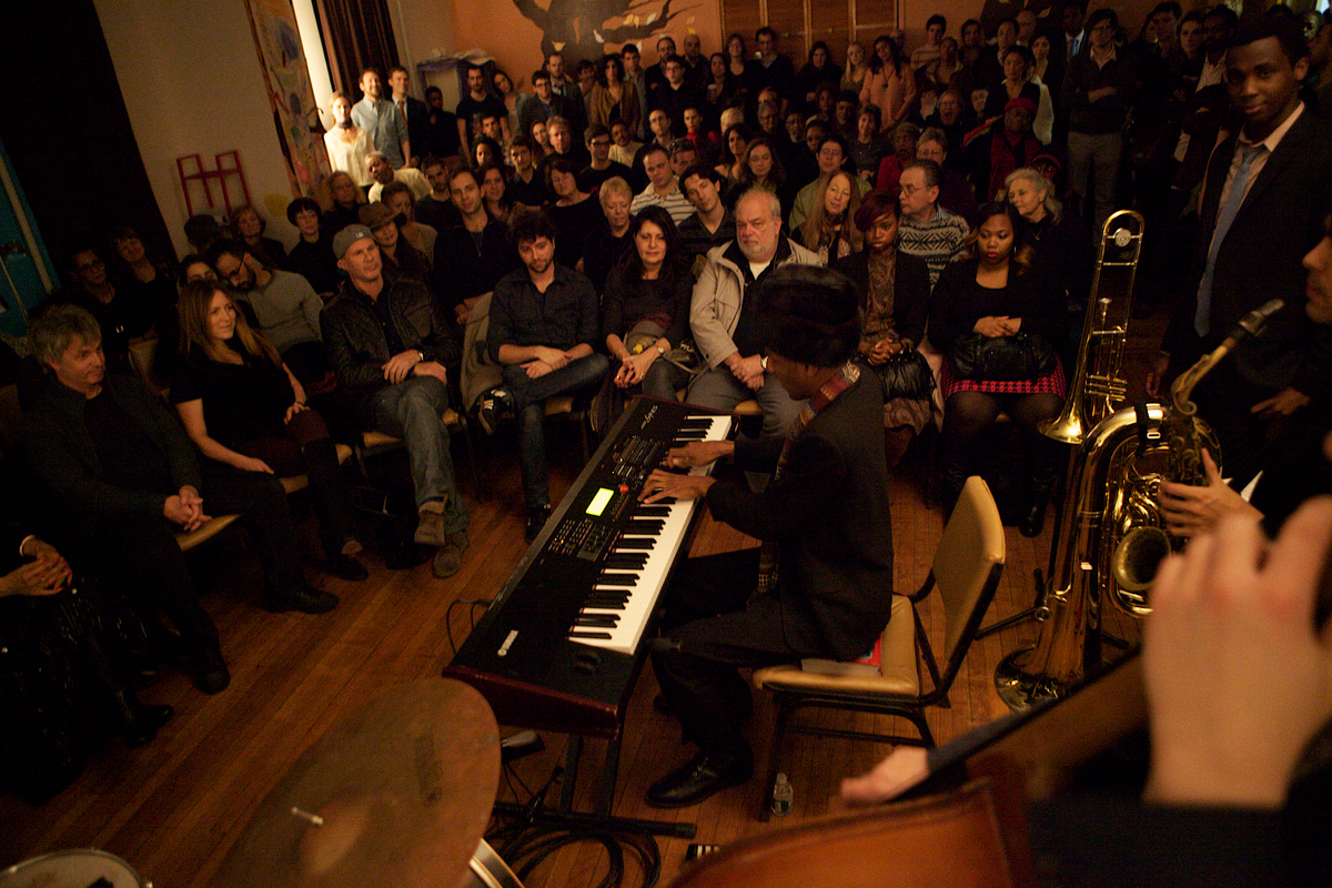 Jonathan Batiste and Stay Human, 12/12/12, NYC