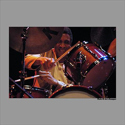 Al Foster, Bruges, Belgium, April 2003