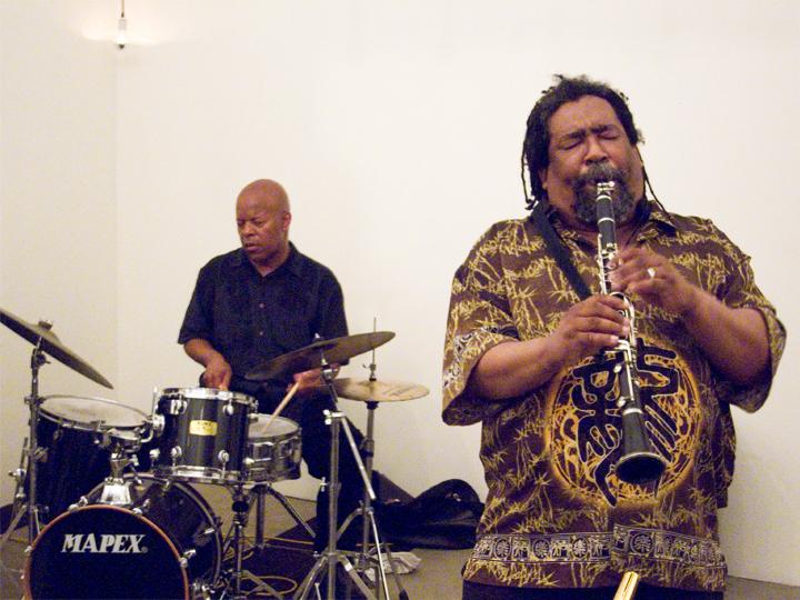 William Hooker and Sabir Mateen - KMB Jazz Fest @ DSMC 2008