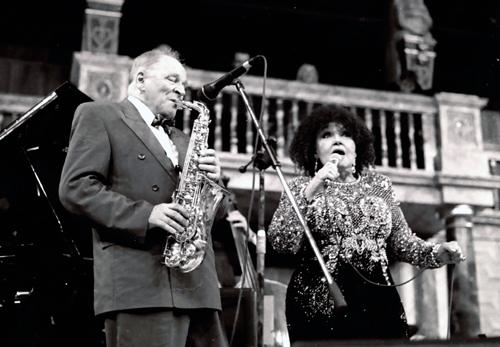 John Dankworth : Cleo Laine 1081232 Images of Jazz