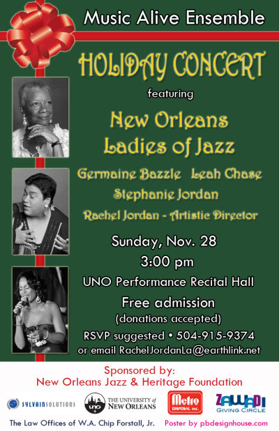 Music Alive Ensemble Ladies of Jazz