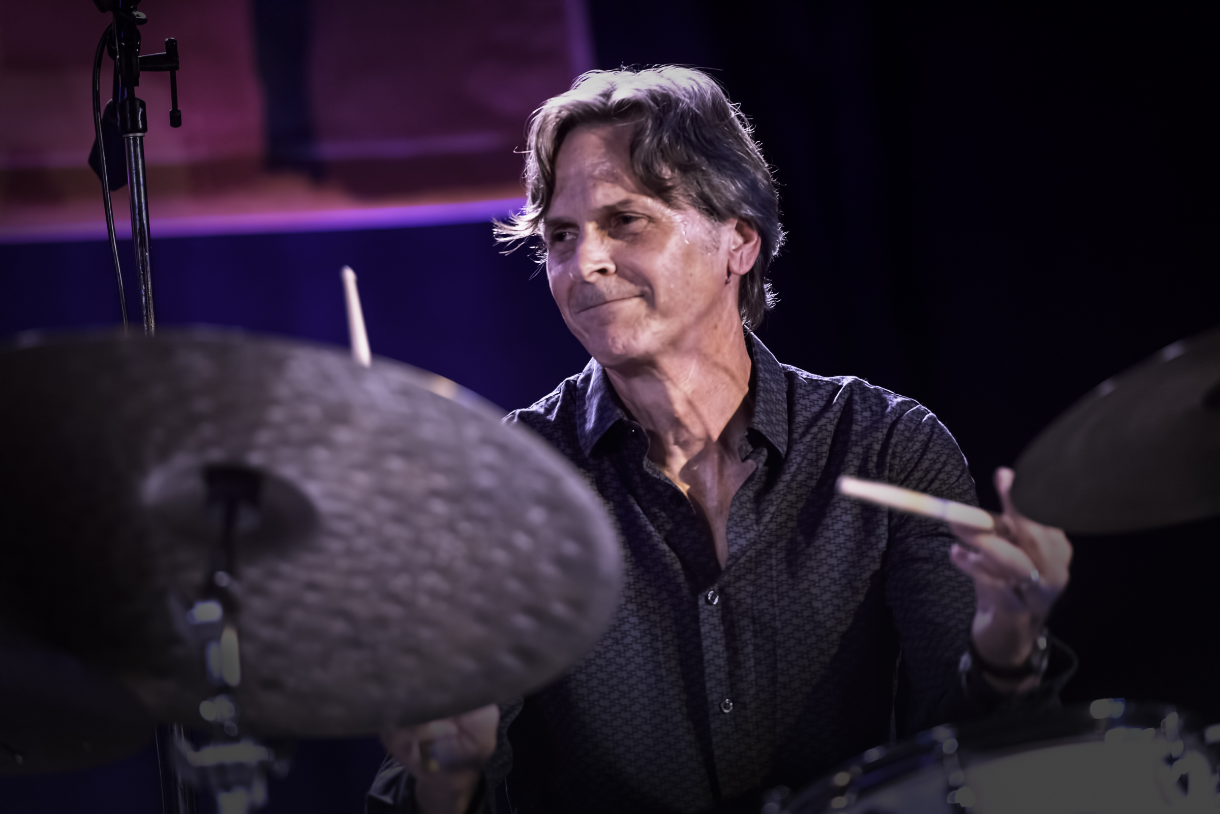 John Bishop with the Chano Dominguez Trio at the Monterey Jazz Festival