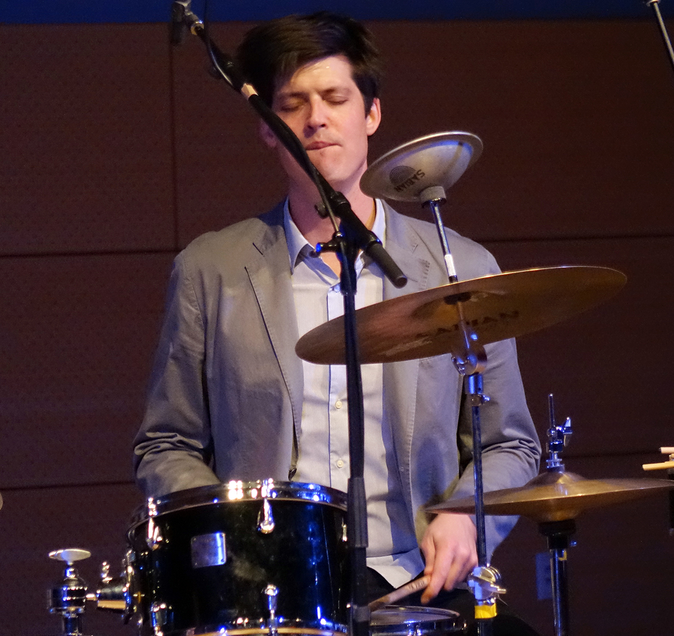 Ches Smith at NYC Winter JazzFest 2016