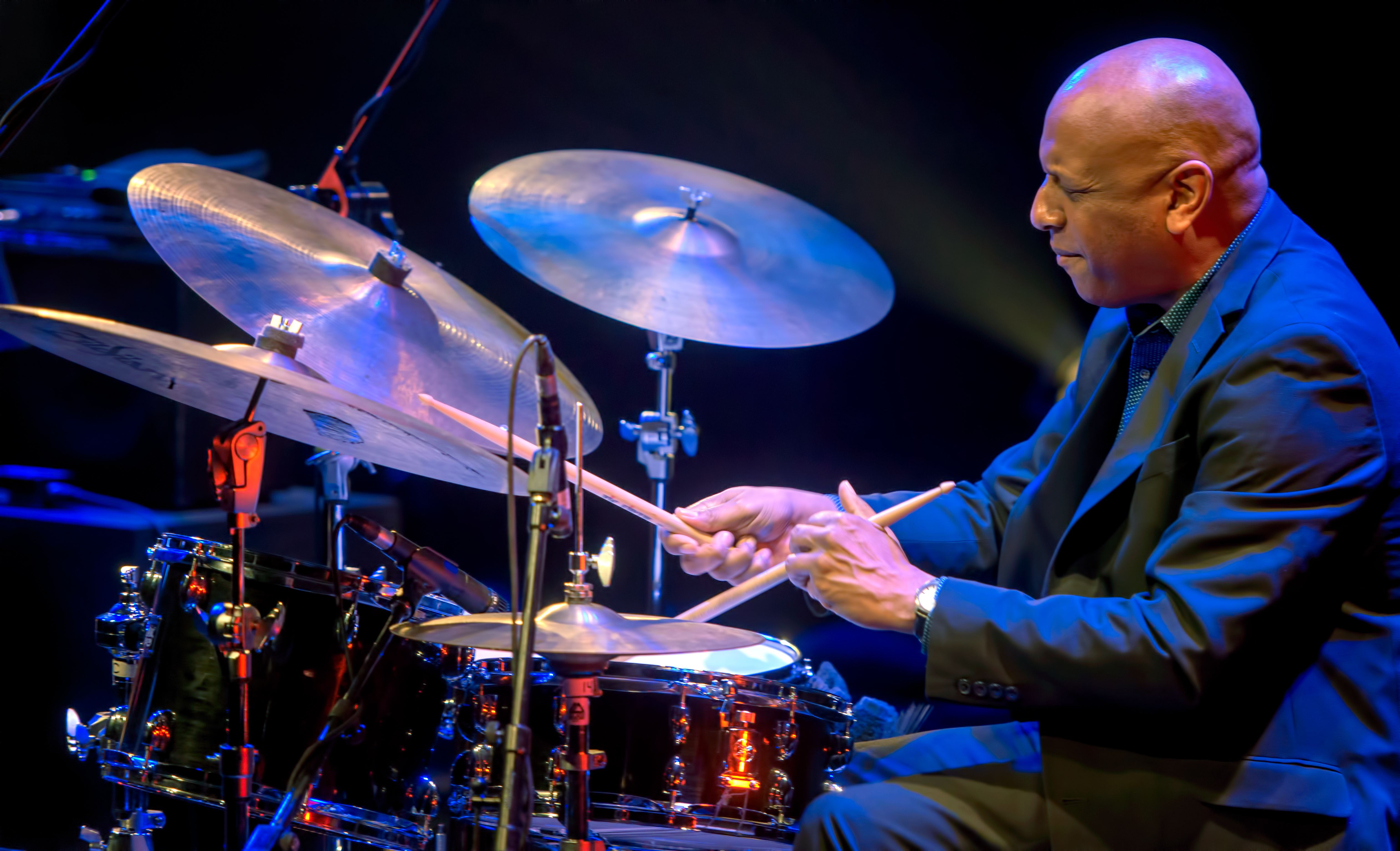 Billy Drummond with the Steve Kuhn Trio at The Montreal International Jazz Festival 2018
