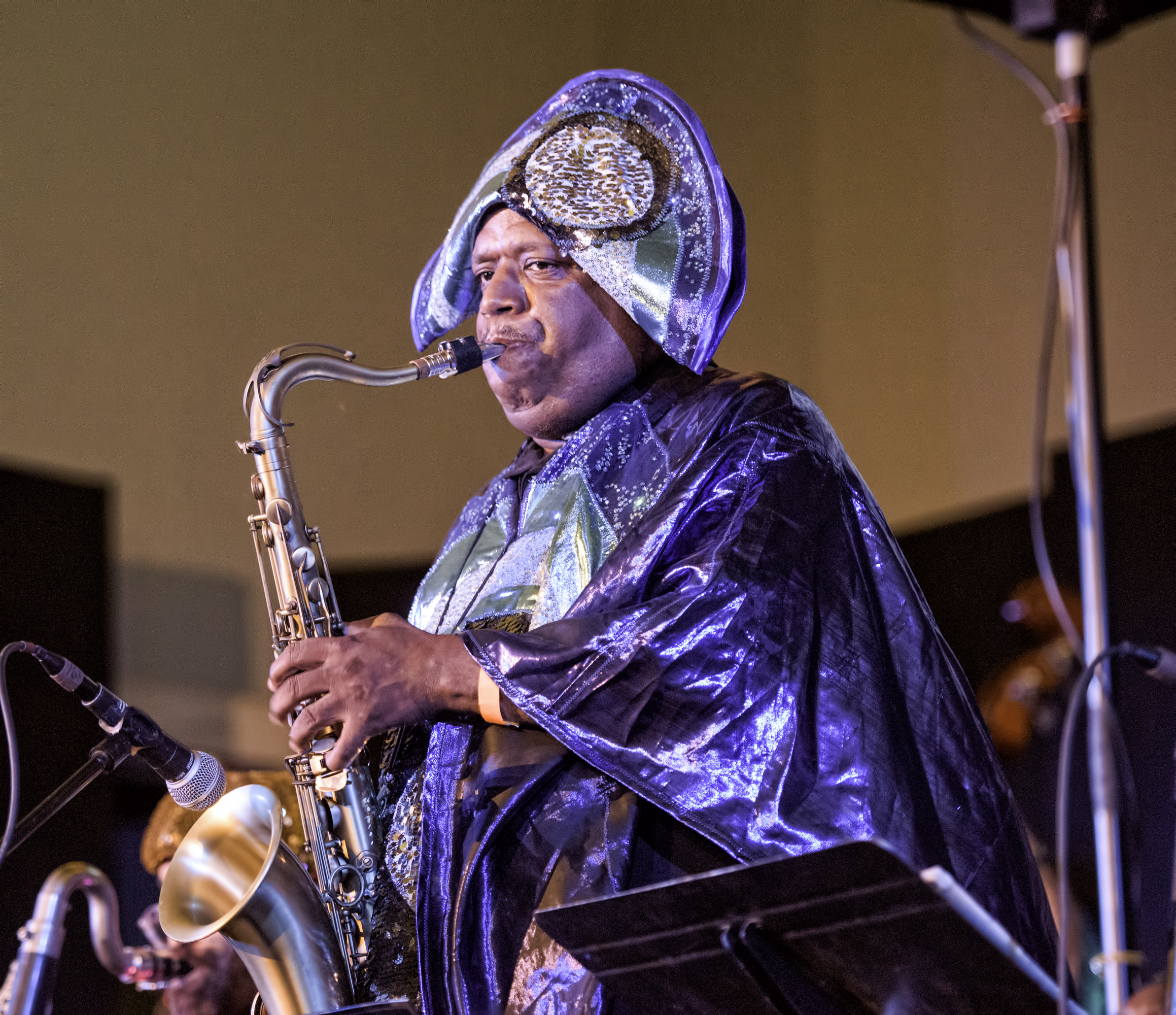 James Stewart with the Sun Ra Arkestra Directed by Marsall Allen at the 20th Anniversary Vision Festival 2015