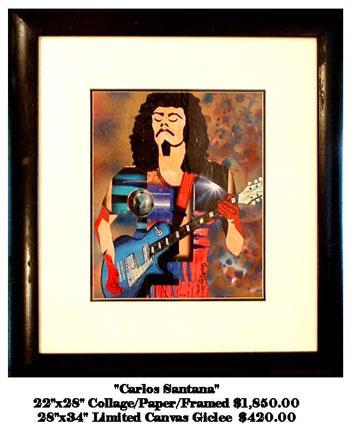 Carlos Santana by Everett Spruill
