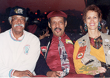 Max, Ernie Andrews & Jan - Long Beachjazz Festival