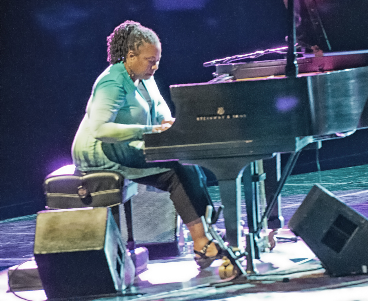 Geri allen with acs at the montreal international jazz festival 2013