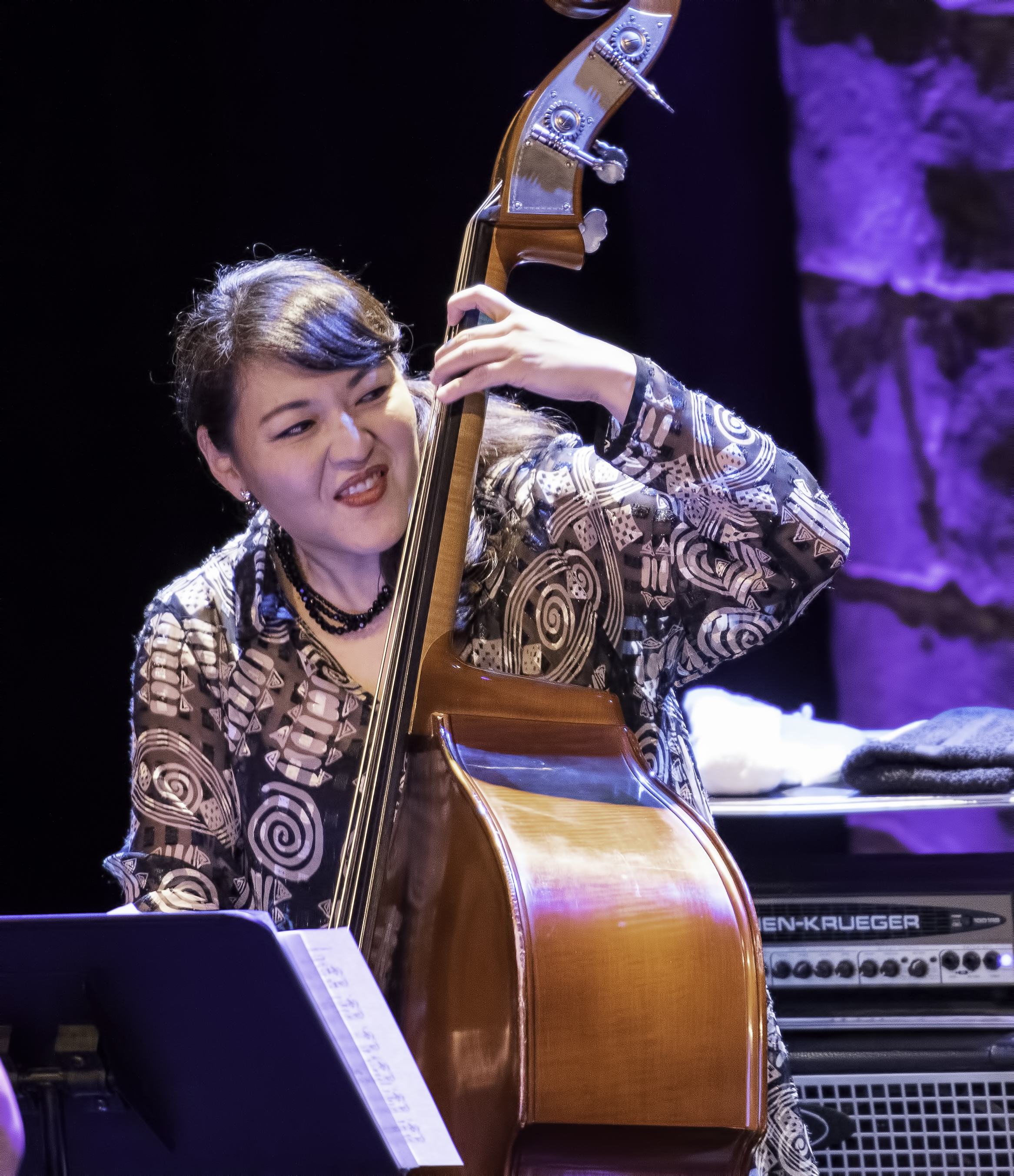 Noriko Ueda with Christine Jensen's New York Quartet At The Montreal International Jazz Festival 2019
