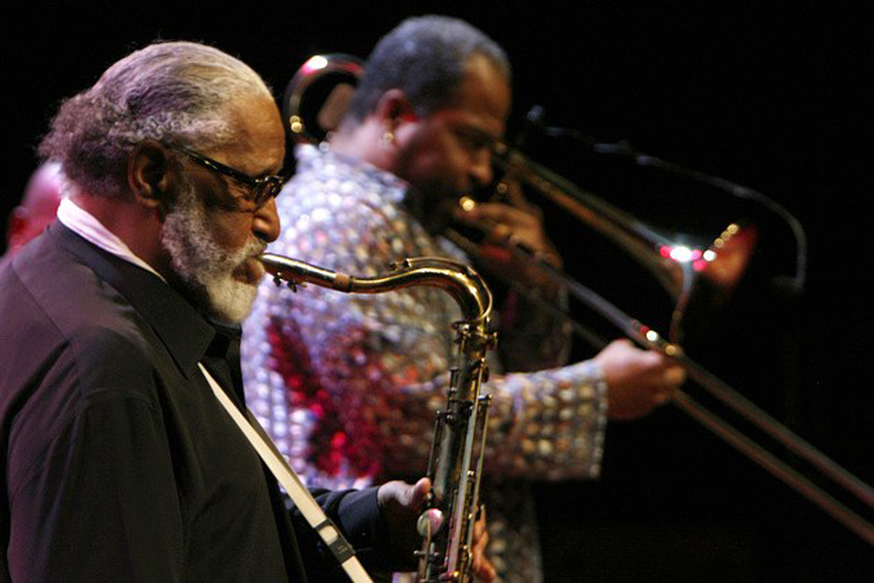 Clifton with sonny rollins