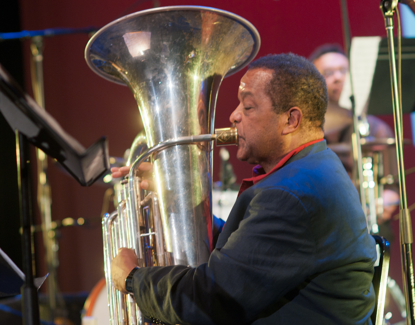 Howard Johnson with Ted Daniel's International Brass Membrane Corps at the Vision Festival 2011