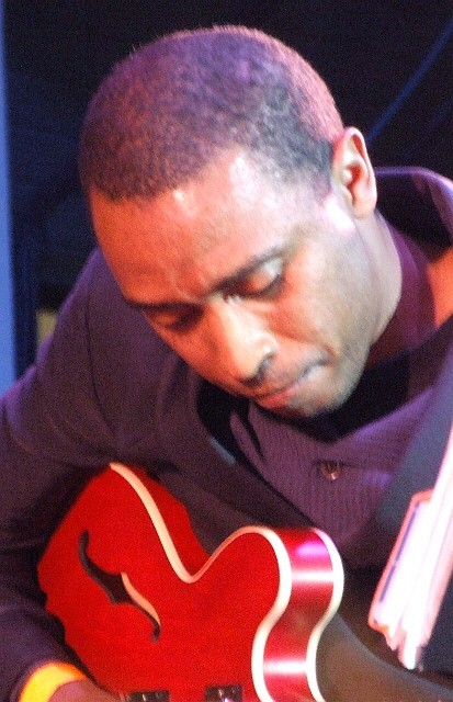 2006 Chicago Jazz Festival, Saturday: Marvin Sewell Guesting with the Bandwagon