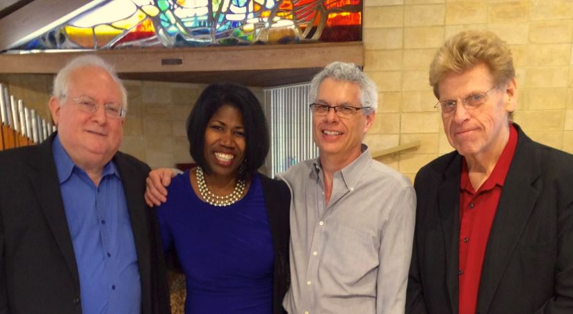 Synia with Don Mopsick, Stephen Bucholtz & Billy Marcus
