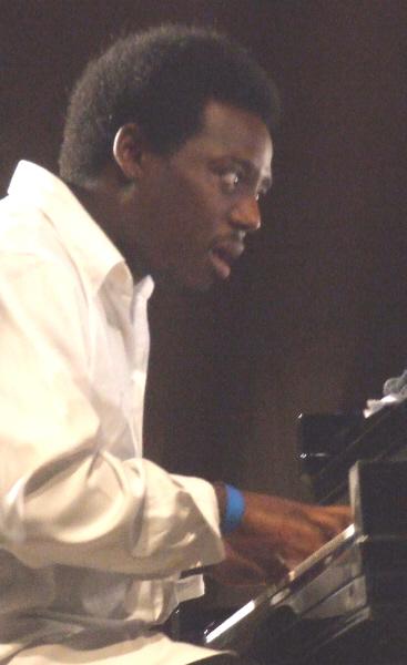 Brandon McCune with Orbert Davis' Chicago Jazz Philharmonic Chamber Ensemble at 2011 Chicago Jazz Festival