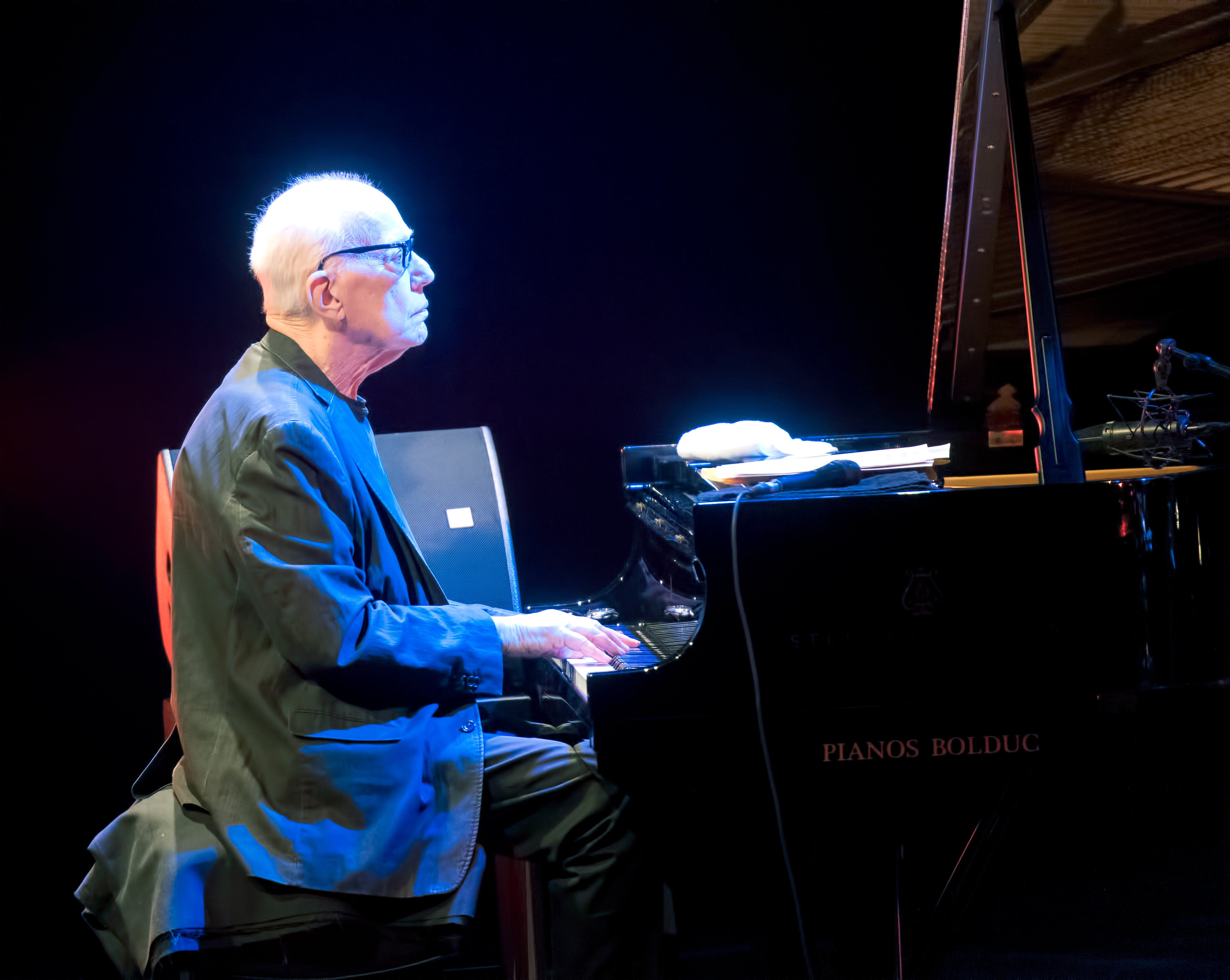 Steve Kuhn with Trio at The Montreal International Jazz Festival 2018