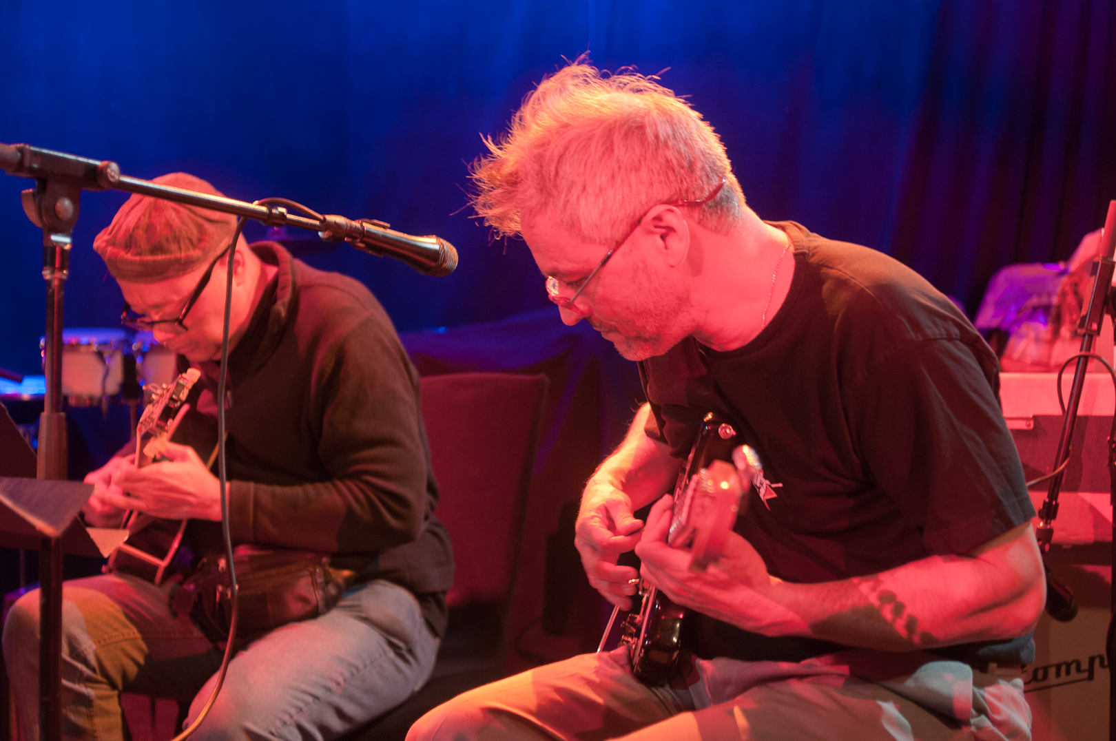Bern Nix and Marc Ribot and the Young Philadelphians at Winter Jazzfest 2012