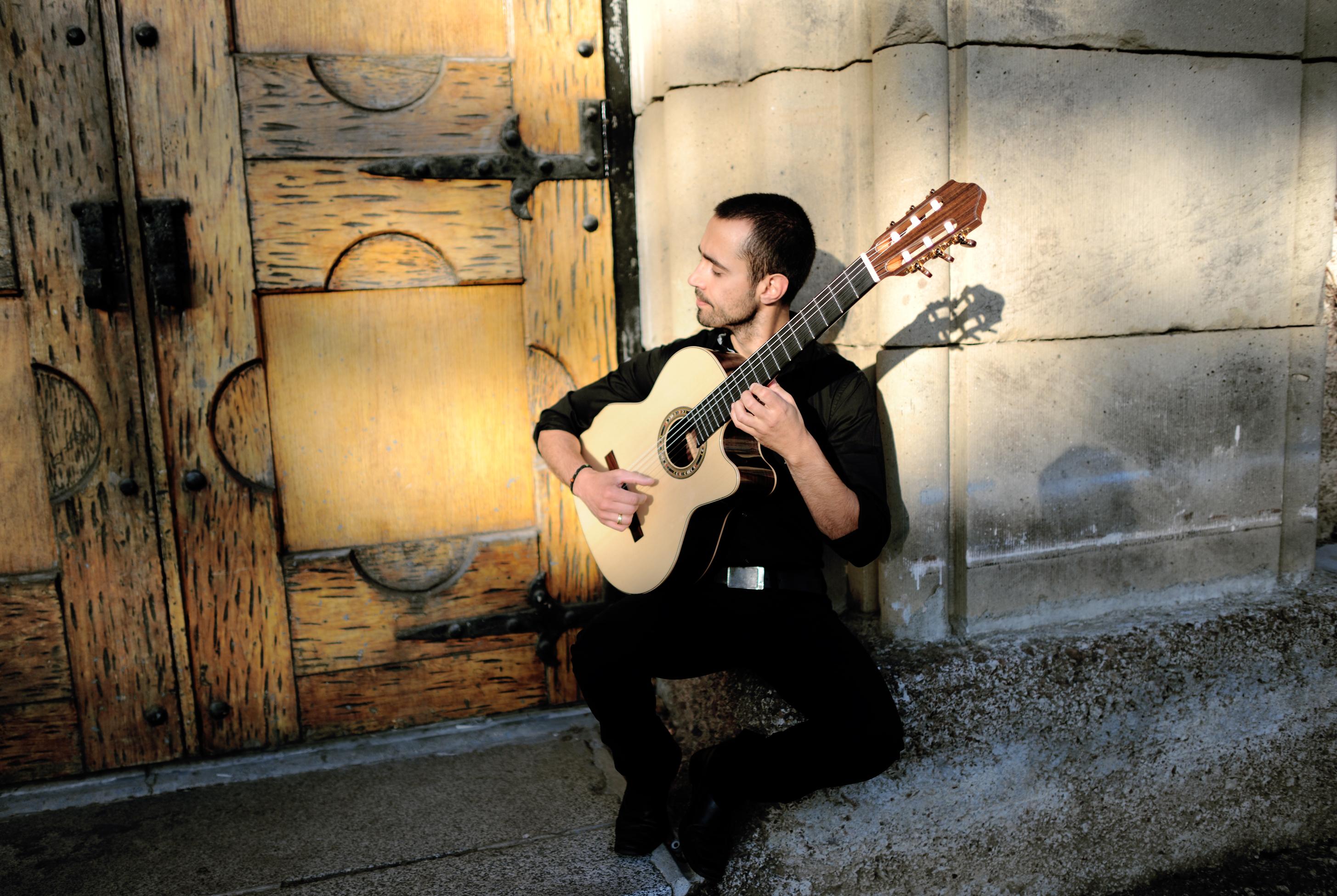Modern jazz guitarist hristo vitchev
