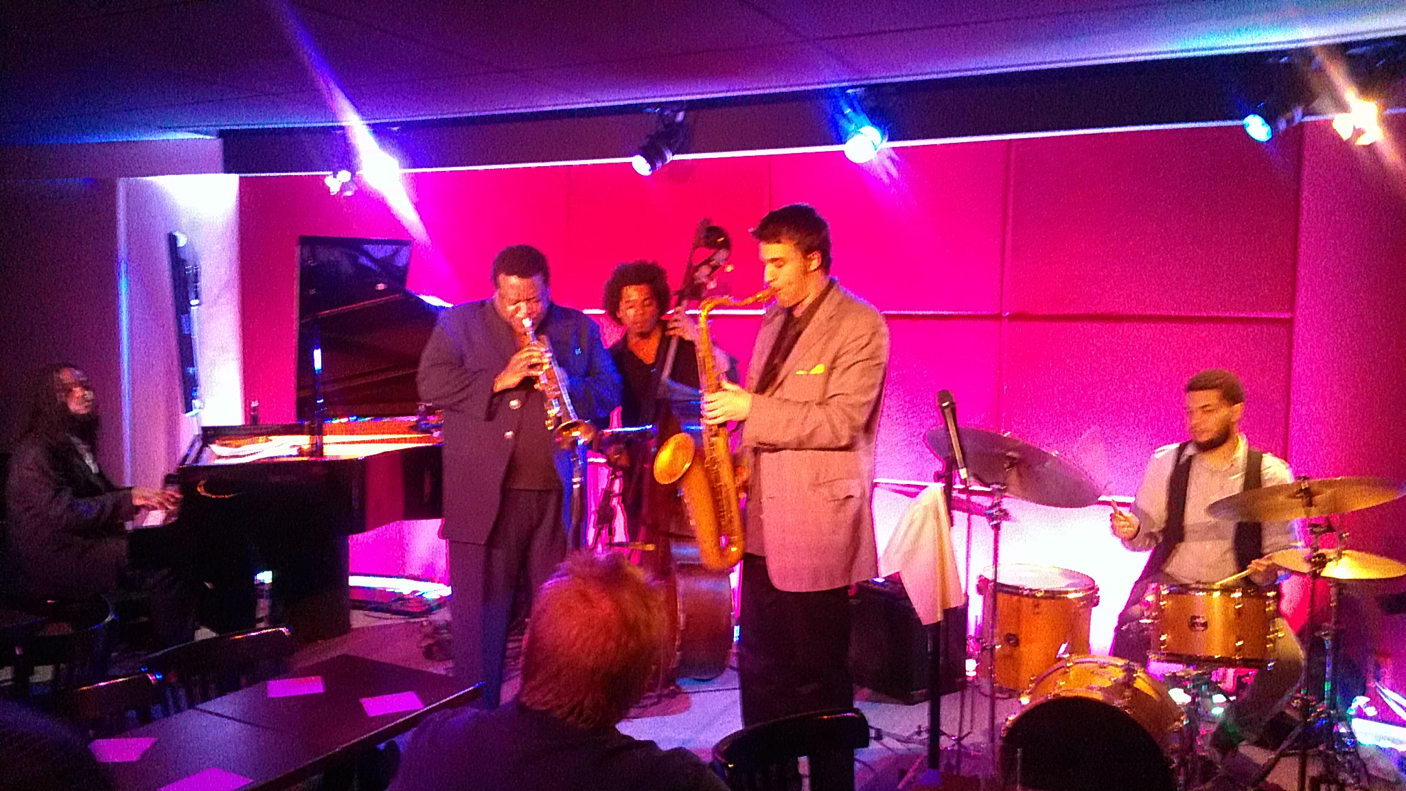 Wallace roney quintet and jaris reed group