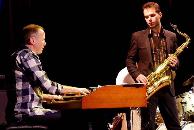 Bill Mudge : Vasilis Xenopoulos 35005 Images of Jazz